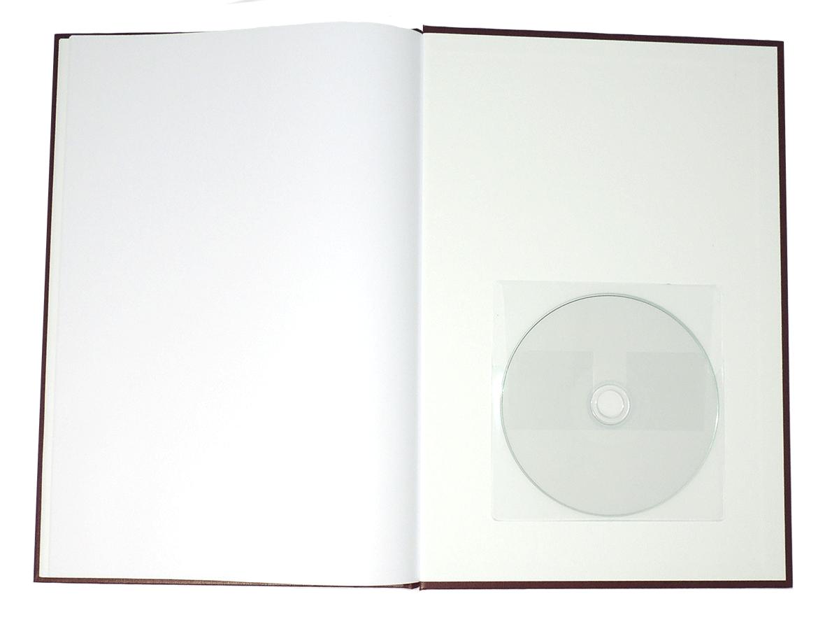 Hardcover - Eingeklebte CD